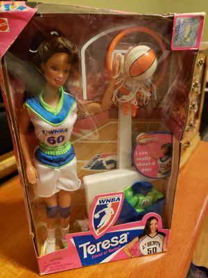 Wnba Barbie Teresa 1998 for Sale in Pflugerville, TX