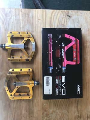 HT AEO1T flat pedals for mountain bike downhill enduro XC for Sale in Alameda, CA