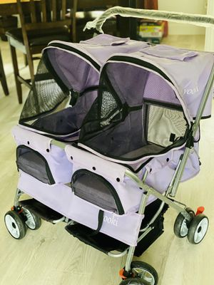 'Yookie' Double Side by Side Lilac Stroller for Sale in North Port, FL