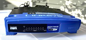 LinkSys Cable/DSL Router with 8-Port 10/100 Switch Wired Router, Model #BEFSR81 for Sale in Bellevue, WA