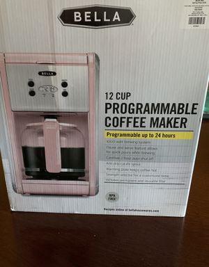 Bello Pastel Pink Retro Coffee Maker for Sale in Mansfield, TX