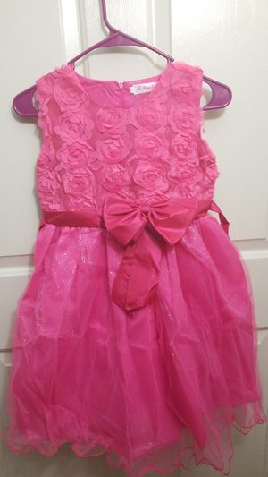 Girl Sleeveless Lace 3D Flower Tutu Holiday Princess Dresses for Sale in Manchester, CT