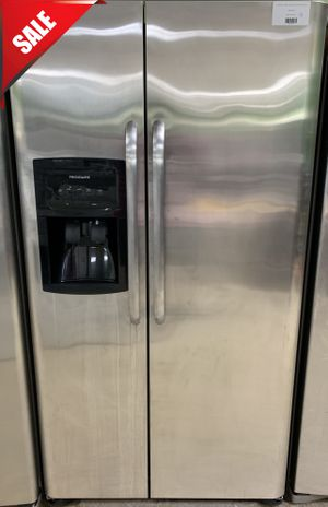 🌟🌟Stainless Steel Refrigerator Fridge Frigidaire Side by Side #765🌟🌟 for Sale in Orlando, FL