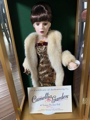 Camilla Garden Porcelain Doll with Swarovski for Sale in Frisco, TX