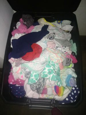Newborn clothes and car seat for Sale in Grenada, MS