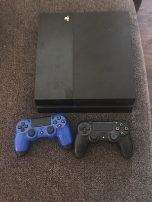 Sony PS4, two controllers and usb charger for Sale in Harrisonburg, VA