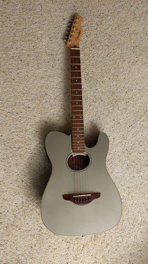 PENDING: Broken Fender Telecoustic guitar - project guitar for Sale in Seattle, WA