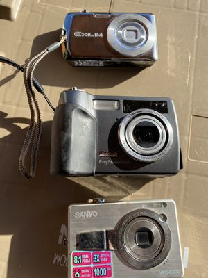 Digital camera all three for Sale in Upland, CA