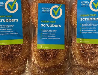 Copper Mesh Scrubbers Lot Of 6 Packs Of 2 for Sale in Rancho Cucamonga,  CA