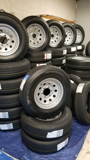 NEW TRAILER TIRES AND WHEELS STARTING AT $70+TAX for Sale in Douglasville, GA