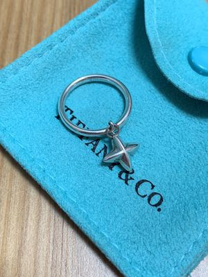 🌟 Tiffany & Co. North Star Charm Ring Size 4.5 🌟 for Sale in Orland Park, IL