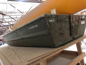 10 foot aluminum boat for Sale in Aventura, FL