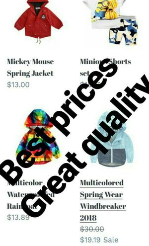 BEST prices for kids clothes toys and accessories!! for Sale in Philadelphia, PA