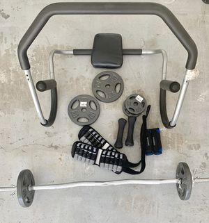 Fitness gear ( all together ) for Sale in Tamarac, FL