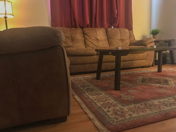 Set of living room tables