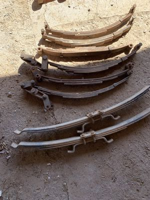 Axle for trailers and springs for Sale in Somerton, AZ