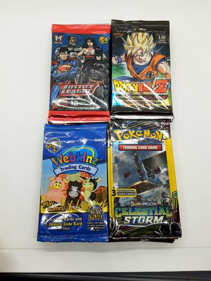 TCG Booster Pack Lot for Sale in Buffalo, NY