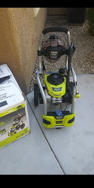 Ryobi 3100psi gas pressure washer for Sale in North Las Vegas, NV