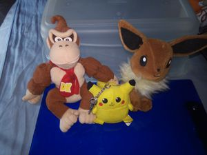 Pokemon and Donkey kong for Sale in Vallejo, CA