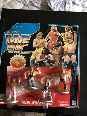 WWF hasbro mini figures for Sale in SEATTLE, WA