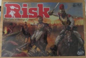 Hasbro RISK The Game of Strategic Conquest Board Game NEW SEALED 2015 for Sale in Oak Forest, IL