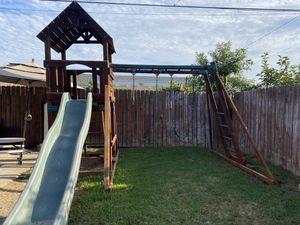 Wooden swing set . for Sale in Cypress, CA