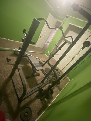 Home Gym workout Bench and more! for Sale in Denver, CO
