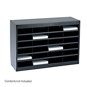 Safeco Literature Organizer, 24 Letter Size Compartments for Sale in Monterey Park, CA