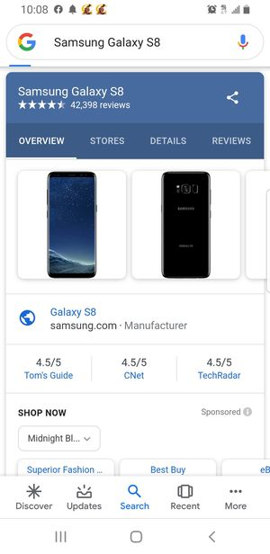 Samsung Galaxy s8 for Sale in Philadelphia, PA