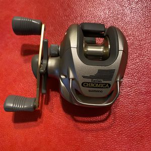 Brand new Shimano Bantam Chromica reel for Sale in Puyallup, WA