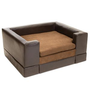 Premium Quality Leather Cushioned Pet Bed for Sale in Los Angeles, CA
