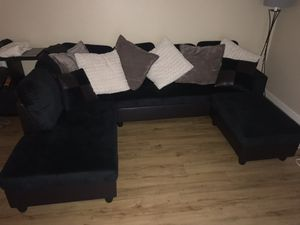 Black sectional for Sale in Portland, OR