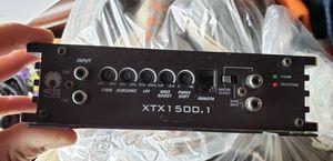 Sub box and amp $100 obo for Sale in Pekin, IL