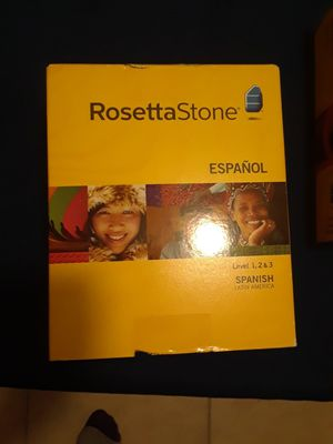 Rosetta Stone Spanish And French Levels 1, 2, & 3 for Sale in Fort Lauderdale, FL