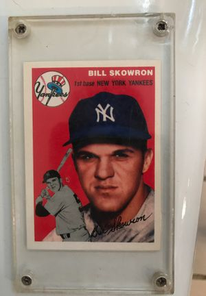 BILL SKOWRON Topps baseball card for Sale in Fairview Park, OH