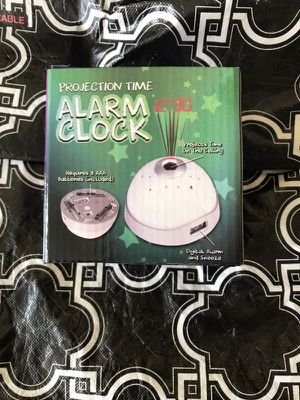 Projection Time Alarm Clock for Sale in IL, US