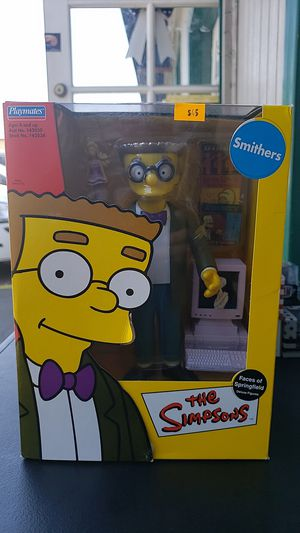 THE SIMPSONS COLLECTIBLE ACTION FIGURE SMITHERS 2002 PICK UP IN WHITTIER for Sale in Whittier, CA