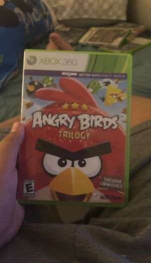 Angry birds Xbox for Sale in El Paso, TX