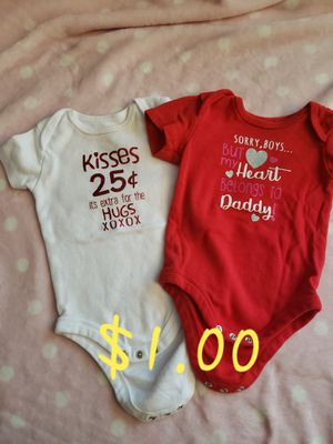 3 to 6 months/6 months baby girl clothes for Sale in Germantown, MD
