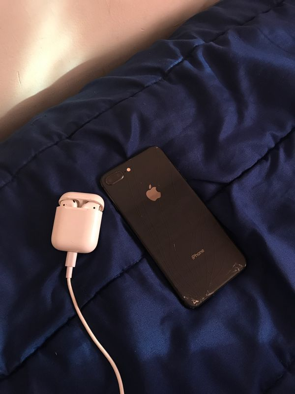 iPhone 8plus and AirPods 2nd generation