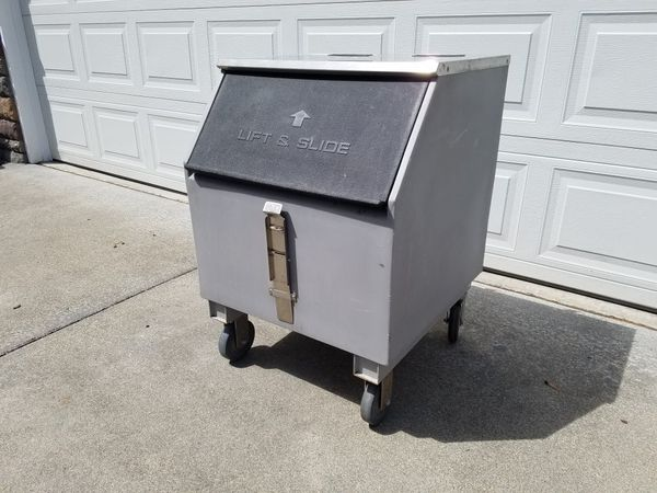 Ice O Matic Portable Cooler Under Counter Ice Box Bin