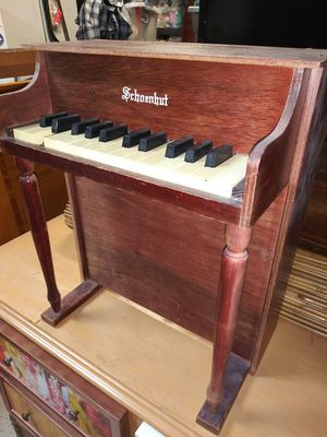 Real vintage miniature piano for Sale in Bartow, FL