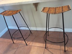 (2) Set of 2 Modern Barstools for Sale in Decatur, GA