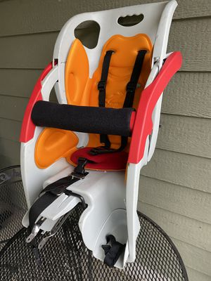 CoPilot Limo Child Bicycle Seat with Mounting Rack for Sale in Portland, OR