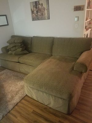 Sage Green Oversized Sectional-MUST SEE!! for Sale in Inglewood, CA