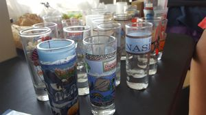 23 Shot glasses - double and single for Sale in North Las Vegas, NV