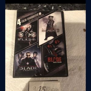 4 Film BLADE Collection DVD for Sale in Fort Lauderdale, FL
