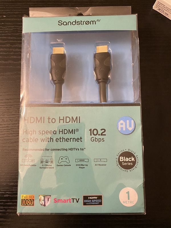 Sandstorm High Speed HDMI Cable with Ethernet