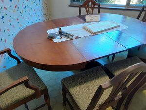 100 year old kitchen table and chairs for Sale in Tacoma, WA