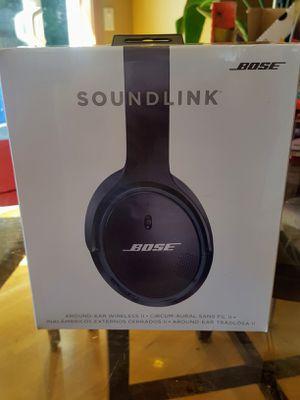 Brand new Bose soundlink II wireless headphones for Sale in Lynnwood, WA